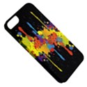 Crazy Multicolored Double Running Splashes Horizon Apple iPhone 5 Classic Hardshell Case View5