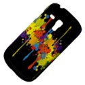 Crazy Multicolored Double Running Splashes Horizon Samsung Galaxy S3 MINI I8190 Hardshell Case View4