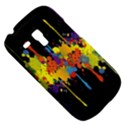 Crazy Multicolored Double Running Splashes Horizon Samsung Galaxy S3 MINI I8190 Hardshell Case View5