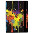 Crazy Multicolored Double Running Splashes Horizon iPad Air 2 Flip View2