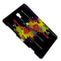 Crazy Multicolored Double Running Splashes Horizon Samsung Galaxy Tab S (8.4 ) Hardshell Case  View5