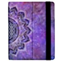 Flower Of Life Indian Ornaments Mandala Universe Apple iPad 2 Flip Case View2