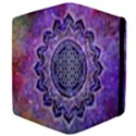 Flower Of Life Indian Ornaments Mandala Universe Apple iPad 2 Flip Case View4