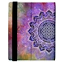 Flower Of Life Indian Ornaments Mandala Universe Samsung Galaxy Tab 8.9  P7300 Flip Case View3