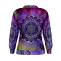 Flower Of Life Indian Ornaments Mandala Universe Women s Sweatshirt View2