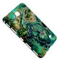 Fractal Batik Art Teal Turquoise Salmon Samsung Galaxy Tab 4 (7 ) Hardshell Case  View5