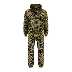 Brown Reptile Hooded Jumpsuit (kids)