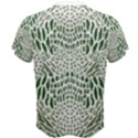 GREEN SNAKE TEXTURE Men s Cotton Tee View2
