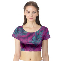 Asia Dragon Short Sleeve Crop Top (tight Fit)