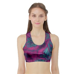Asia Dragon Sports Bra With Border