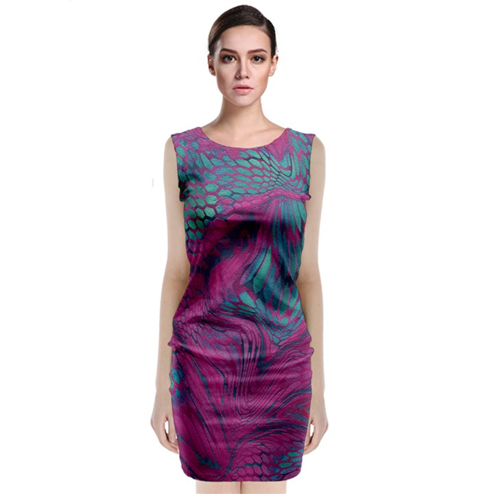 ASIA DRAGON Classic Sleeveless Midi Dress