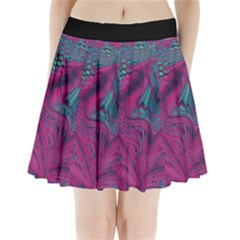 Asia Dragon Pleated Mini Skirt