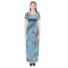 Frost Dragon Short Sleeve Maxi Dress
