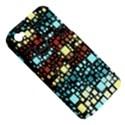 Block On Block, Aqua Apple iPhone 4/4S Hardshell Case (PC+Silicone) View5