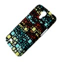 Block On Block, Aqua Samsung Galaxy Mega 6.3  I9200 Hardshell Case View4