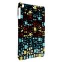 Block On Block, Aqua iPad Air Hardshell Cases View2