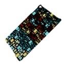 Block On Block, Aqua iPad Air Hardshell Cases View4