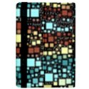 Block On Block, Aqua iPad Mini 2 Flip Cases View4