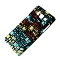 Block On Block, Aqua Samsung Galaxy A5 Hardshell Case  View4