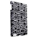 Block On Block, B&w Apple iPad 3/4 Hardshell Case View2