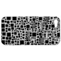 Block On Block, B&w Apple iPhone 5 Hardshell Case View1