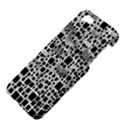 Block On Block, B&w Apple iPhone 5 Hardshell Case View4