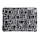 Block On Block, B&w Apple iPad Mini Hardshell Case (Compatible with Smart Cover) View1