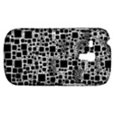 Block On Block, B&w Samsung Galaxy S3 MINI I8190 Hardshell Case View1