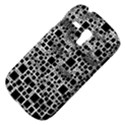 Block On Block, B&w Samsung Galaxy S3 MINI I8190 Hardshell Case View4