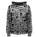 Block On Block, B&w Women s Pullover Hoodie View1