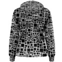 Block On Block, B&w Women s Pullover Hoodie View2