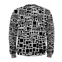 Block On Block, B&w Men s Sweatshirt