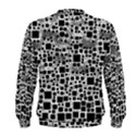Block On Block, B&w Men s Sweatshirt View2