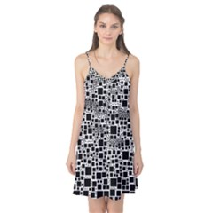 Block On Block, B&w Camis Nightgown