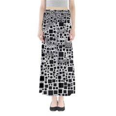 Block On Block, B&w Maxi Skirts by MoreColorsinLife