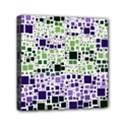 Block On Block, Purple Mini Canvas 6  x 6  View1