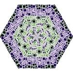 Block On Block, Purple Mini Folding Umbrellas