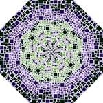Block On Block, Purple Hook Handle Umbrellas (Medium)