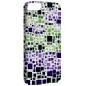 Block On Block, Purple Apple iPhone 5 Classic Hardshell Case View2