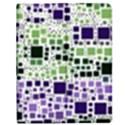 Block On Block, Purple Apple iPad Mini Flip Case View1