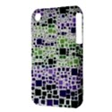 Block On Block, Purple Apple iPhone 3G/3GS Hardshell Case (PC+Silicone) View3