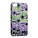 Block On Block, Purple Apple iPhone 4/4S Hardshell Case with Stand View2