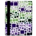 Block On Block, Purple Samsung Galaxy Tab 10.1  P7500 Flip Case View2