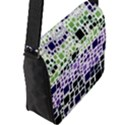 Block On Block, Purple Flap Messenger Bag (L)  View2