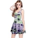 Block On Block, Purple Reversible Sleeveless Dress