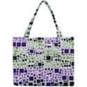 Block On Block, Purple Mini Tote Bag View1
