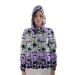Block On Block, Purple Hooded Wind Breaker (Women)