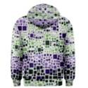 Block On Block, Purple Men s Pullover Hoodie View2