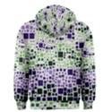 Block On Block, Purple Men s Zipper Hoodie View2