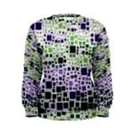 Block On Block, Purple Women s Sweatshirt
